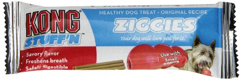 KONG Stuff'N Ziggies Cube Small Dog Treat, 52-Ounce (Puppy Ziggies Treats Dog)