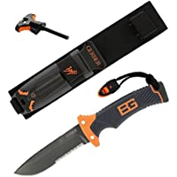 Gerber Bear Grylls Ultimate Survival Knife with Sheath and Firestarter