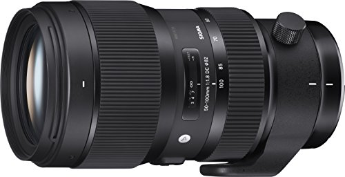 Sigma 693955 50-100mm f/1.8 DC HSM Art Lens for Nikon, Black
