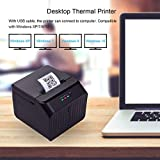 Aibecy Desktop 58mm Thermal Label Printer Wired