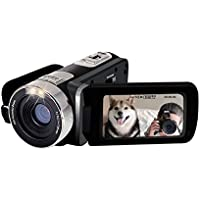 TOOGOO(R) Camera Comcorder Full HD 1080p 16X Digital Zoom 2.7 inch LCD 270 Degree Rotation Screen