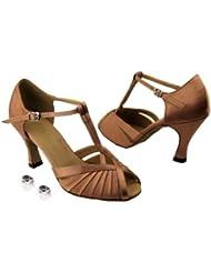 Very Fine Ladies Women Ballroom Dance Shoes EK2707 With 3 Heel