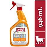 Nature's Miracle Orange Oxy Stain & Odor Remover Just for Dogs, Pet Stain Eliminator, 946mL