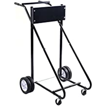 Goplus 315 LBS Outboard Boat Motor Stand Carrier Cart Dolly Storage Pro Heavy Duty