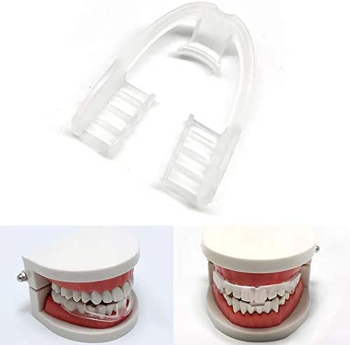Anti Grinding Teeth Guard for Kids Adults Pack of 3 Food Grade Night Guard for Sleep (White)