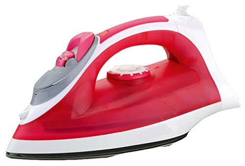 GlowMark Red Steaming Iron