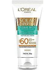 Protetor Solar Facial com Toque Seco Fps 60 50G, L'Oréal Paris