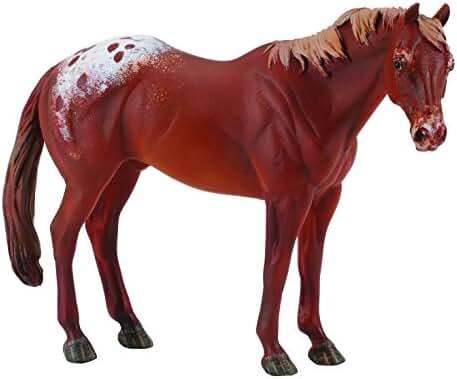 CollectA Chestnut Appaloosa Stallion