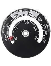 Kcnsieou Kleine vervuilingsvrije Magnetische Kachel Rookkanaal Pijp Thermometer Multi Brandstof Houtkachel Houtkachel Kachel Pijp