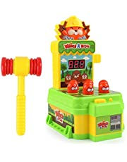 Whack-a-mole Game,Hit The Gopher On The Ground To Score The Whack A Mole Game with Mini Hammer,Training Reaction Ability Pounding Toys Toddler Toys for 3 4 5 6 7 8 Years Old Boys Girls
