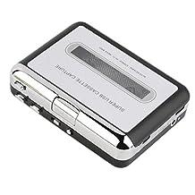 Fenteer Mini USB Audio Cassette Tape Converter to MP3/CD Music Player for PC