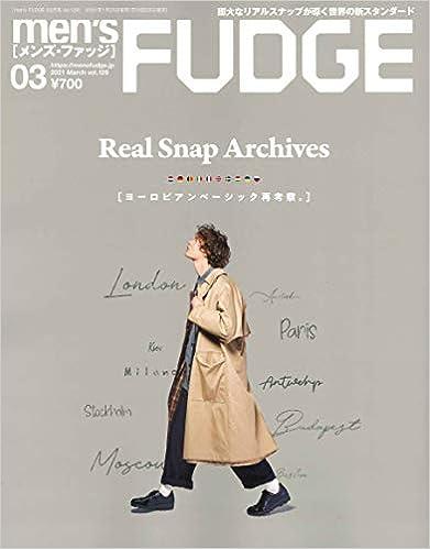 men's FUDGE - メンズ ファッジ - 2021年 3月号 Vol.129雑誌