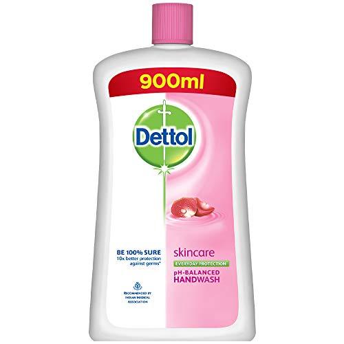 Dettol Skincare Germ Protection Handwash Liquid Soap Jar, 900ml