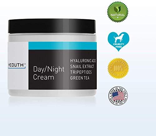 Crème Hydratante de Jour Pour le Visage Avec Extrait D'escargot YEOUTH, Acide Hyaluronique (4oz)