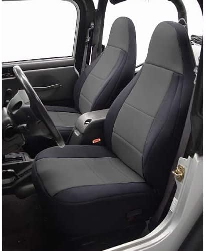 Coverking SPC131 Custom Fit Seat Cover for Jeep Wrangler TJ 2-Door