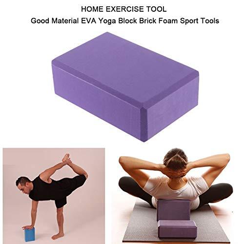 8 cm Pratique Fitness Gym Sport Outil Yoga Bloc Brique Mousse Moussante Exercice /À La Maison Outil De Remise en Forme Panamami 23 15