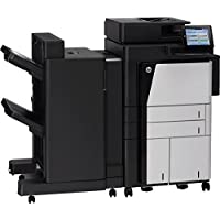 HP LaserJet M830Z Laser Multifunction Printer - Monochrome - Plain Paper Print - Floor Standing - Copier/Fax/Printer/S