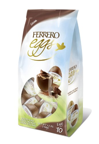 Ferrero Fine Hazelnut Milk Chocolate Eggs Easter Basket