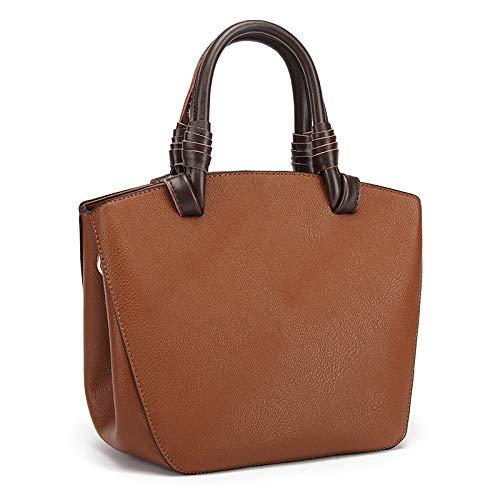 épaules Main Nouveaux Cuir Sac Main en Sacs Messenger brown à à Mode Coréenne à des Sauvage YXLONG Marée Bag Version Sacs Main TXSqwTx6d