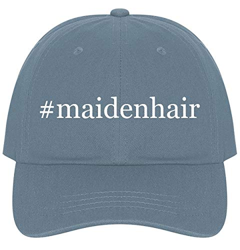 The Town Butler #Maidenhair - A Nice Comfortable Adjustable Hashtag Dad Hat Cap, Light Blue (Mikhail Shishkin The Light And The Dark)