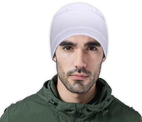 Cooling Cap/Helmet Liner/Skull Cap/Running Beanie - Ultimate Performance Moisture Wicking. Fits under Helmets