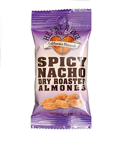 (Heart Ridge Farms, Spicy Nacho Dry Roasted Almonds, 1 Ounce (Pack of 24))