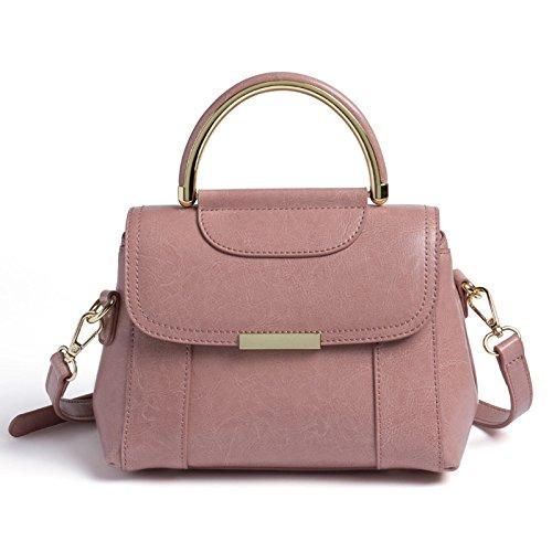 Hobos Bandoulière Satchel Bureau Pink poignée à Top Messenger De Sacs à Portable Totes Vintage Sacs Sac Crossbody Femmes Mesdames Main fAn8qw0