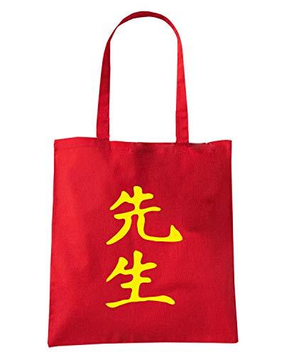Speed Shirt Borsa Shopper Rossa TAM0160 SENSEI KANJI