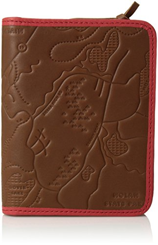 Fossil Embossed Wallet - Fossil Leather Passport Case