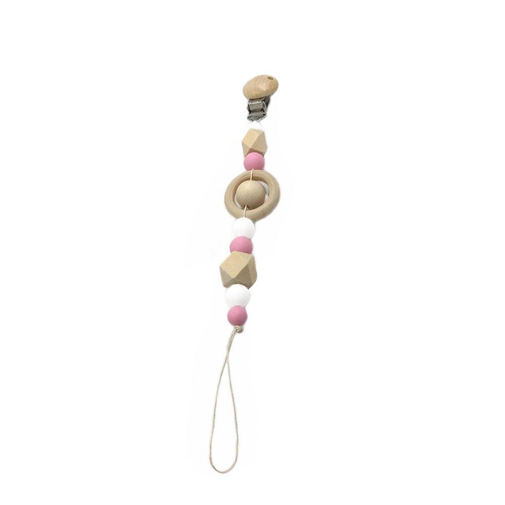Amazon.com: inchant bebé de madera Clip para chupete ...
