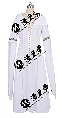 Mtxc Women's Legend of the Seeker Cosplay Kahlan Amnell Dress Size XX-large White