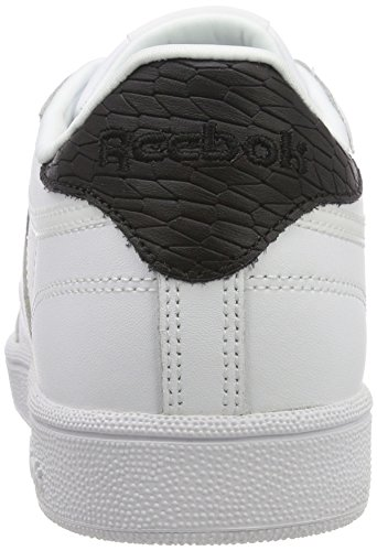 Club Emboss Blanc 85 Reebok Cass Femme Gymnastique C Chaussures De tOqnwC