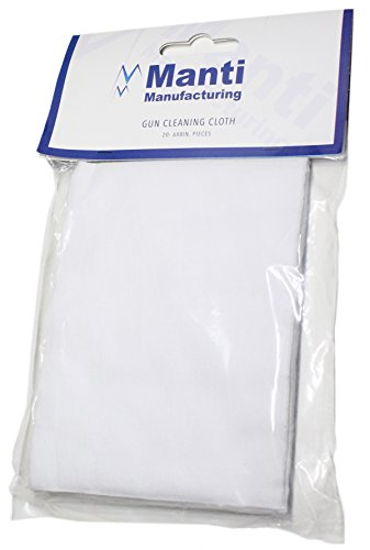 100% Cotton Cleaning Patches - 20 pack 6