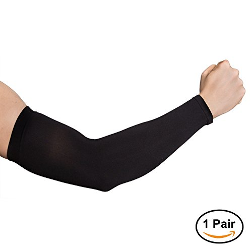 NEWBYINN UV Sun Protection Cooling Arm Sleeves for Adults Men Women, Cooler Protective Sleeves to Cover Arms