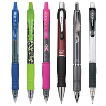 41N-3w6I8aL Pilot G2 Retractable Premium Gel Ink Roller Ball Pens, Ultra Fine Point, Black Ink, Dozen Box (31277)