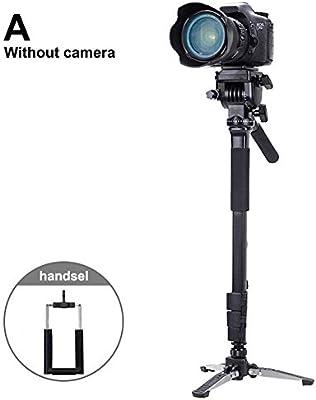 BestSiller Trípode para cámara, Amortiguador hidráulico ...