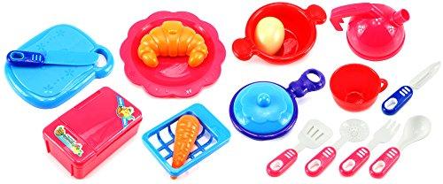 Disney Cool Bake Oven - Big Breakfast Children's Kid's Pretend Play Toy Kitchen Play Set w/ Accessories