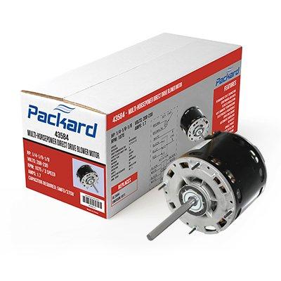 Packard 45460 1/6-1/2 HP Multi-HP 115 Volts PSC Motor by Packard