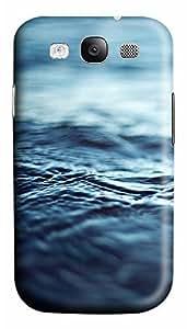 Samsung S3 Case Calm Blue Water Ripples110 3D Custom Samsung S3 Case Cover