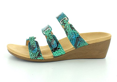 Vionic–DWYN Verde azulado(Teal Snake)