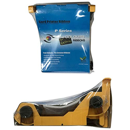 Printer Parts New Compatible 800015-940 Color Ribbon for Zebra P110i P120i Printer 200 Images Print