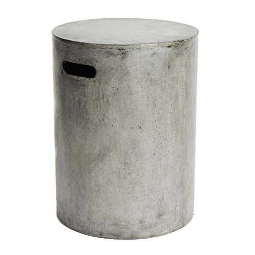 Repose Watercourse Side Table (Side Table Outdoor Concrete)