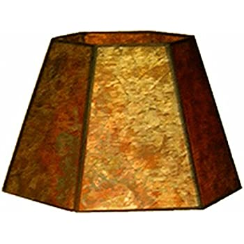 Upgradelights eggshell uno 12 inch lamp shade replacement for down upgradelights 12 inch uno down bridge mica lamp shade replacement for floor lamps 7x12x75 aloadofball Image collections