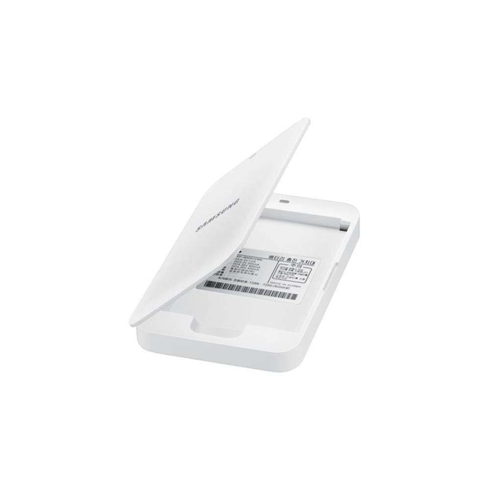 Samsung EB-K500BE - Pack de batería Extra con Cargador para Galaxy S4 Mini con LTE (MicroUSB), Blanco