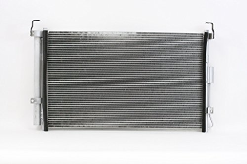 A-C Condenser - Pacific Best Inc For/Fit 3578 06-14 Kia Sedona 07-08 Hyundai Entourage w/ Receiver & Drier