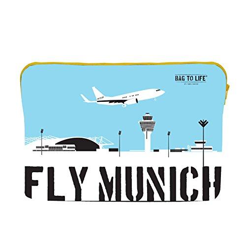 Bag to Life Sacoche pour ordinateur portable 15Mac Fly Munich de gilet de sauvetage-ehrensache