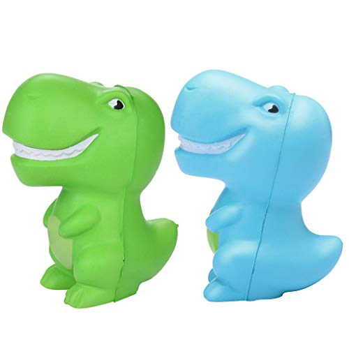 (Squeeze Toys Stress Reliever Toys Squishies 2PCS Dinosaur Scented Slow Rising)