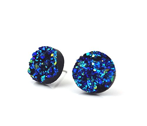 12mm Faux Druzy Stud Earrings product image