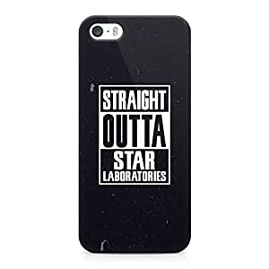 iPhone 5s Case Straight Outa Tv Show Light weight Printed Edges Wrap around iPhone 5 Case