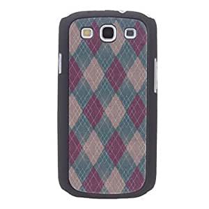 MOM ships in 48 hours Elegant Design Rhombus Pattern Durable Hard Case for Samsung Galaxy S3 I9300